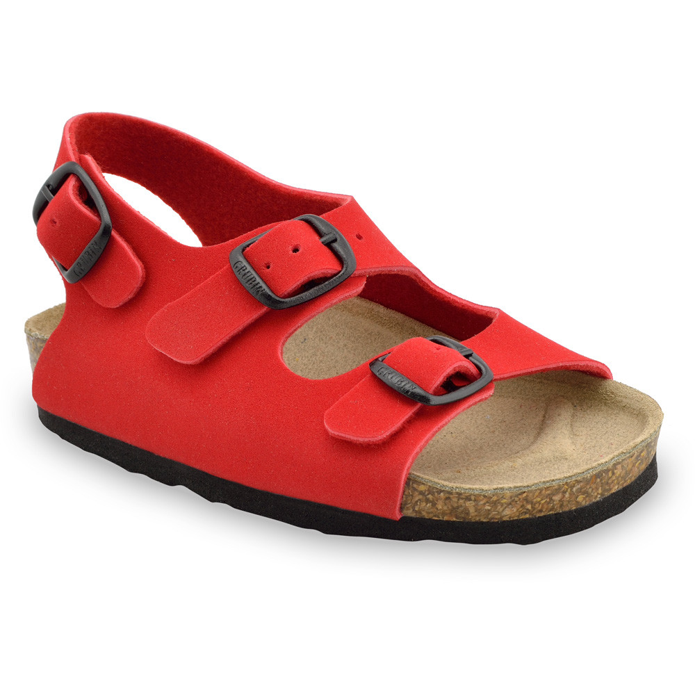 LAGUNA Kinder Sandalen (23-29) - rot, 23