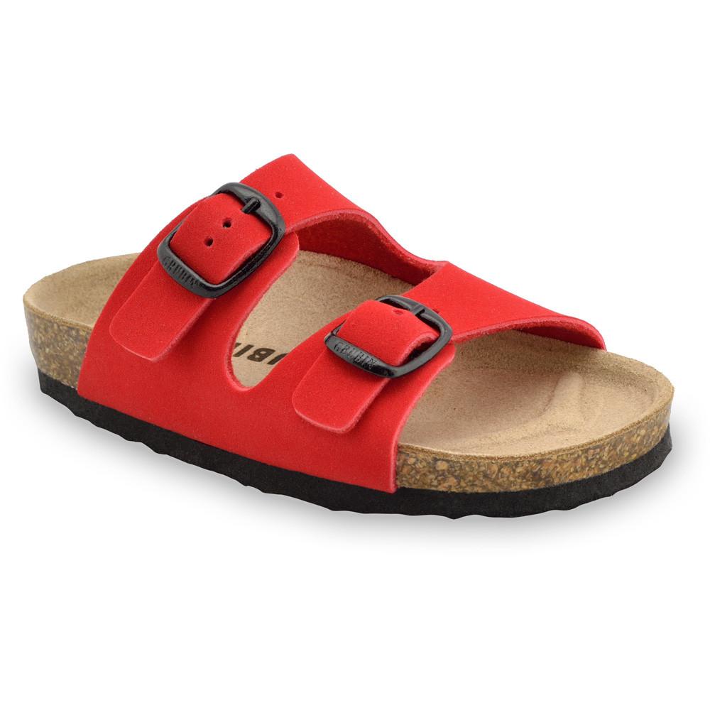 ARIZONA Kinder Pantoffeln (30-35) - rot, 31