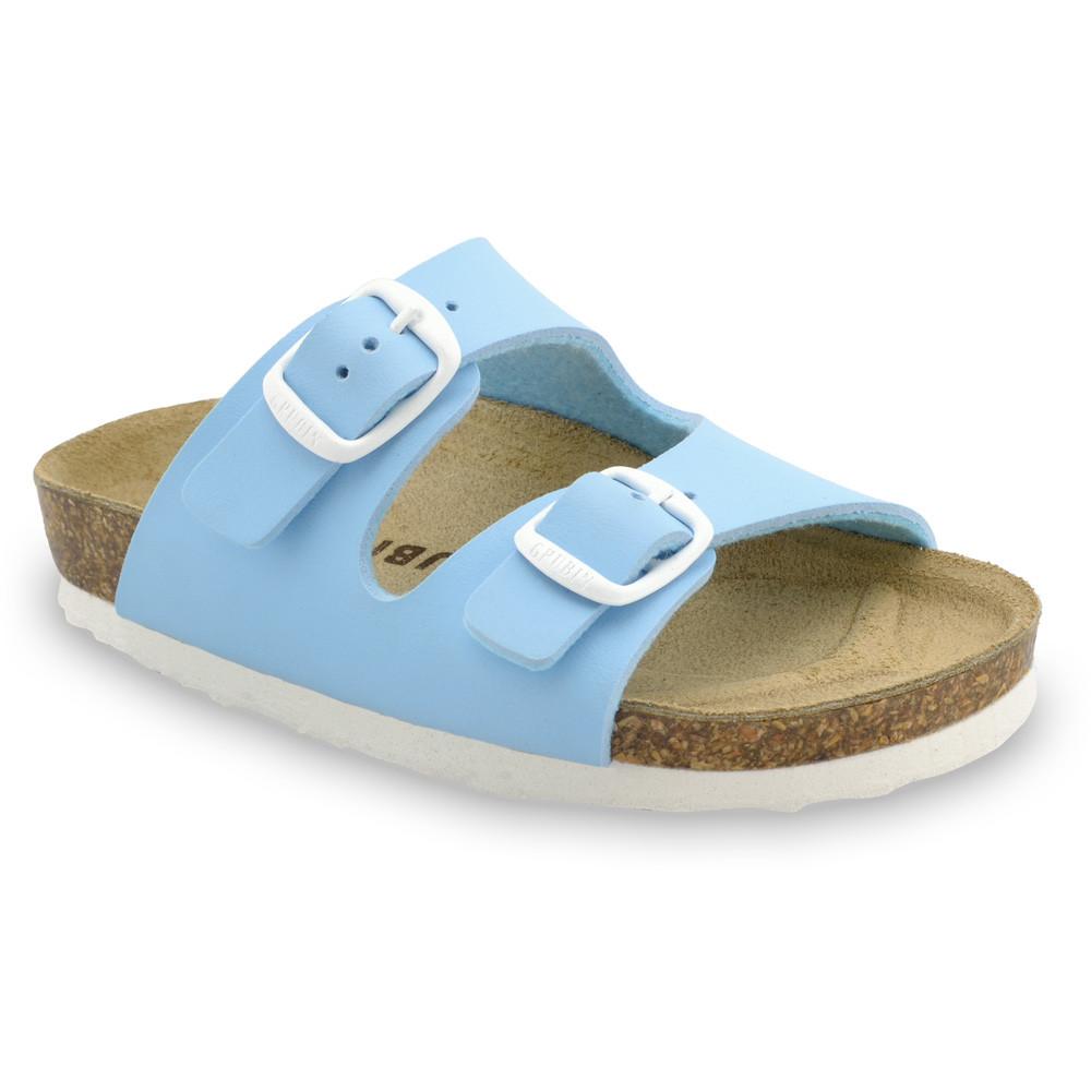 ARIZONA Kinder Pantoffeln (30-35) - hellblau, 30