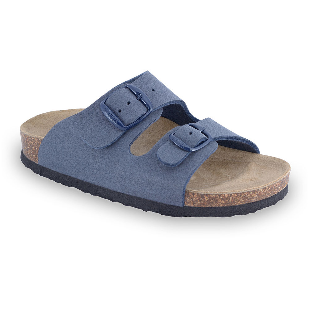 ARIZONA Kinder Pantoffeln (30-35) - blau, 33