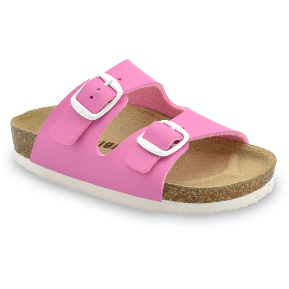 ARIZONA Kinder Pantoffeln (30-35) - rosa, 33