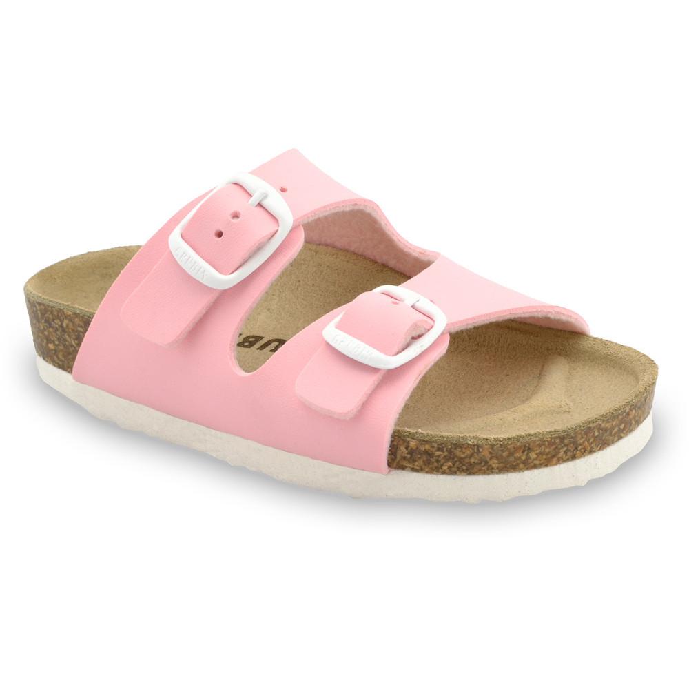 ARIZONA Kinder Pantoffeln (30-35) - hellrosa, 35