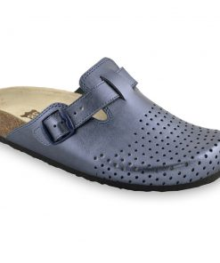BEOGRAD Geschlossene Pantoffeln für Damen - Leder Kast (36-42)