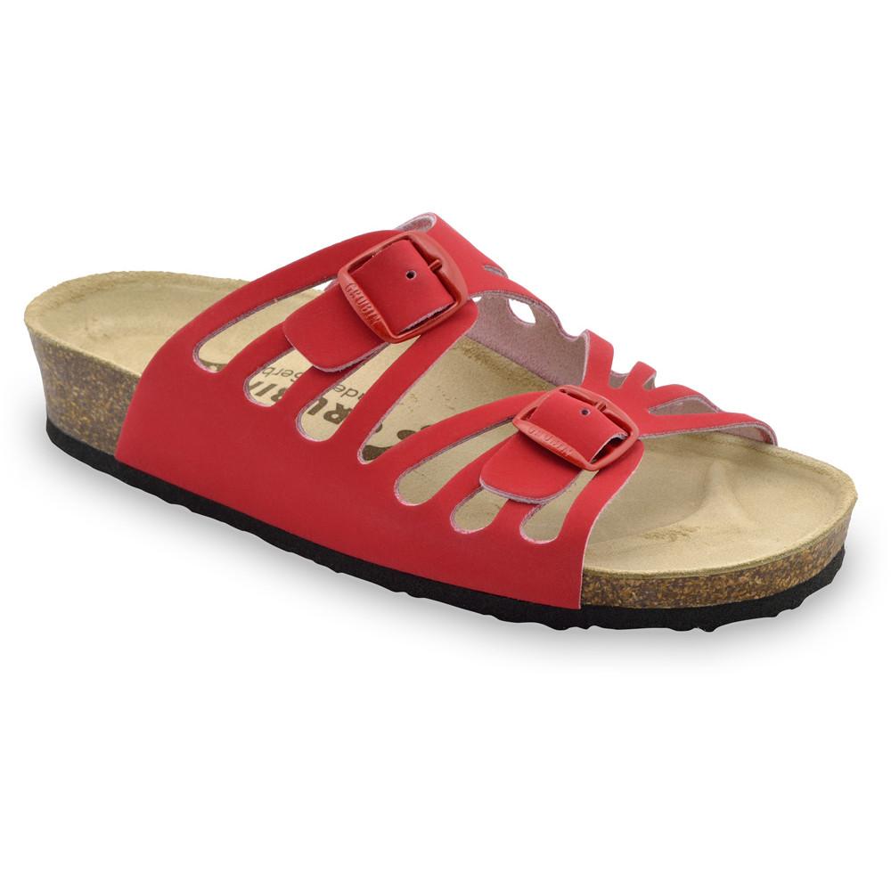 DERBY Pantoffeln für Damen - Leder (36-42)