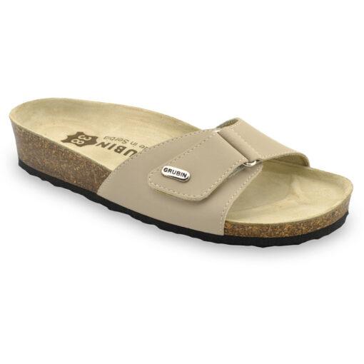 BRIGITTE Leder Damen Pantoffeln (36-42)