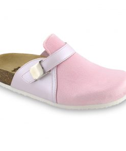INDIO Geschlossene Pantoffeln für Damen - Plüsch (36-42)