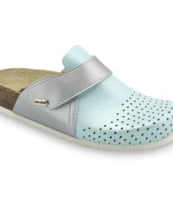 OREGON Geschlossene Pantoffeln für Damen - Leder Kast (36-42)