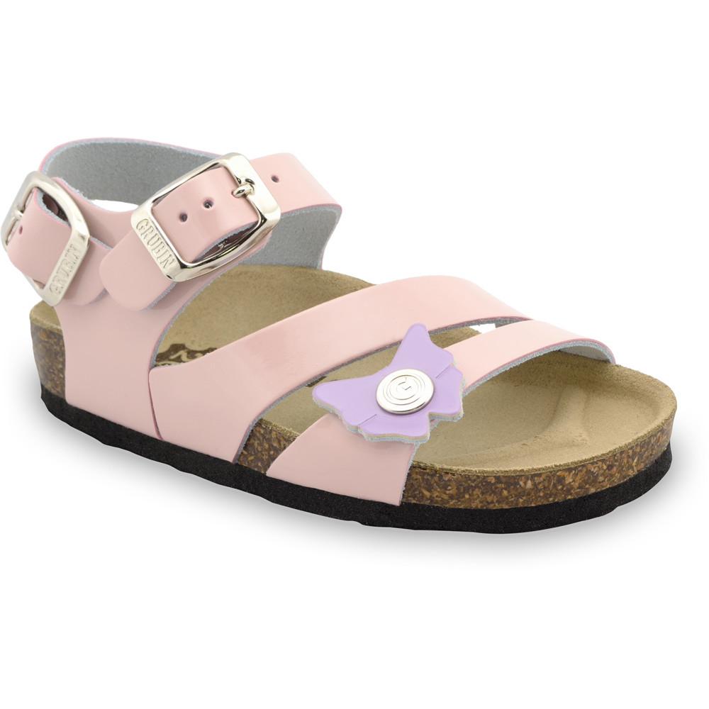 KATY Sandalen für Kinder - Leder (30-35) - creme, 30
