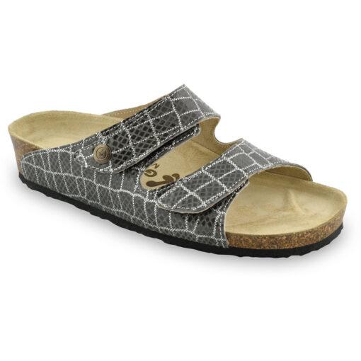 DARA Leder Damen Pantoffeln (36-42)