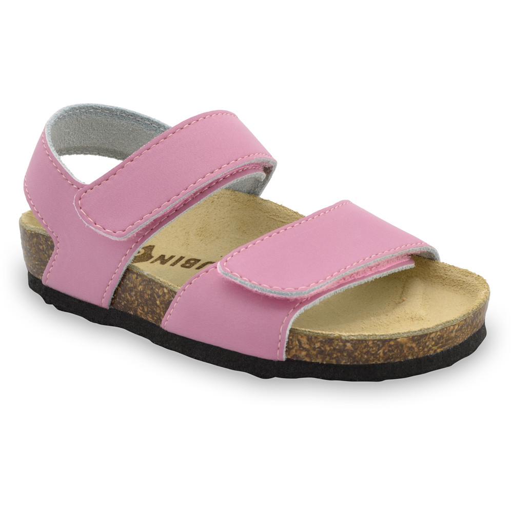 DIONIS Sandalen für Kinder - Leder (30-35) - rosa, 30