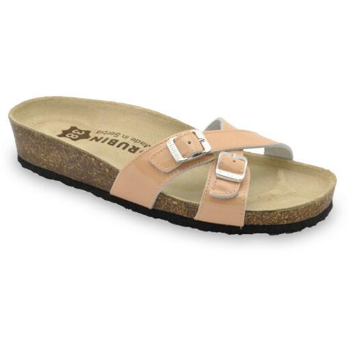 MODENA Leder Damen Pantoffeln (36-42)