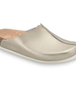TRISTAN Geschlossene Lederpantoffeln für Damen (37-41)