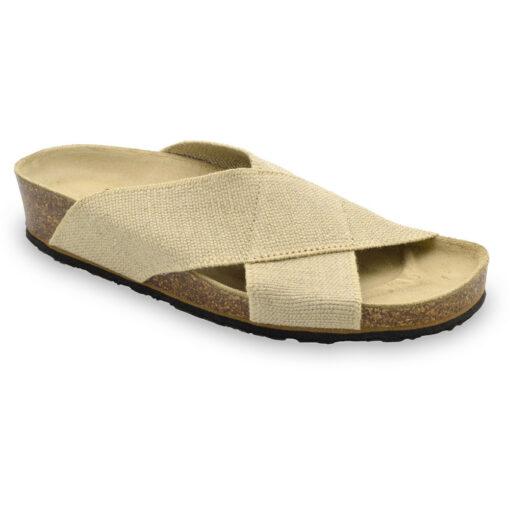 IVA Pantoffeln für Damen - Stoff (36-42)