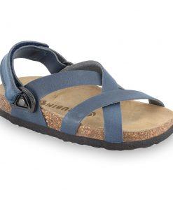 PITAGORA Sandalen für Kinder - Leder Nubuk-Kast (30-35)