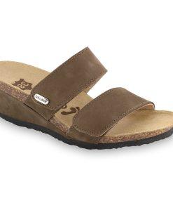 KRISTI Leder Damen Pantoffeln (36-42)