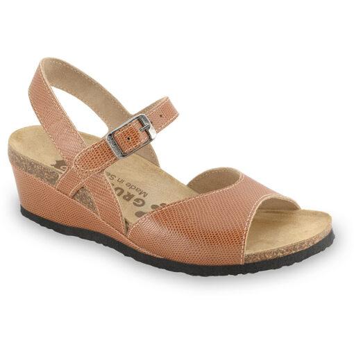 HALDEJA Sandalen für Damen - Leder (36-42)