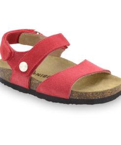 EJPRIL Sandalen für Kinder - Leder Nubuk (23-29)