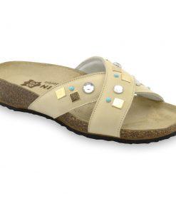 ELLE Pantoffeln für Damen - Leder (36-42)
