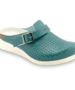 DUBAI Geschlossene Pantoffeln Silverplus - Leder (36-42)
