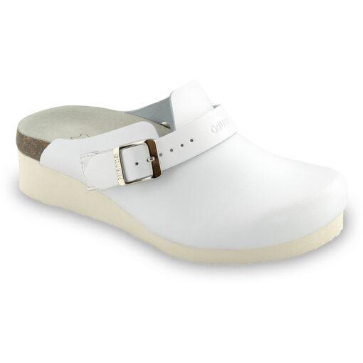 MELBOURNE Geschlossene Pantoffeln Silverplus - Leder (36-42)