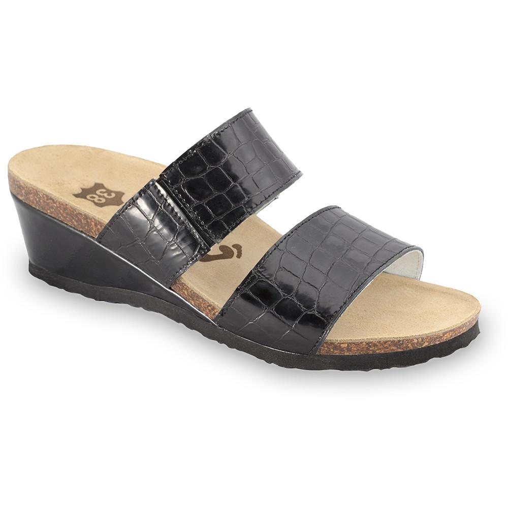 NATASHA Leder Damen Pantoffeln (36-42)