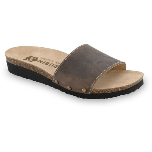 ALBINA Pantoffeln für Damen - Leder (36-42)