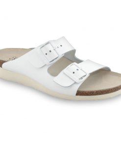 TULSA Pantoffeln Silverplus - Leder (36-42)